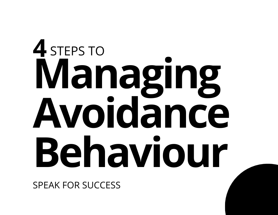Read more about the article 4 Techniques to Managing Avoidance Behaviour