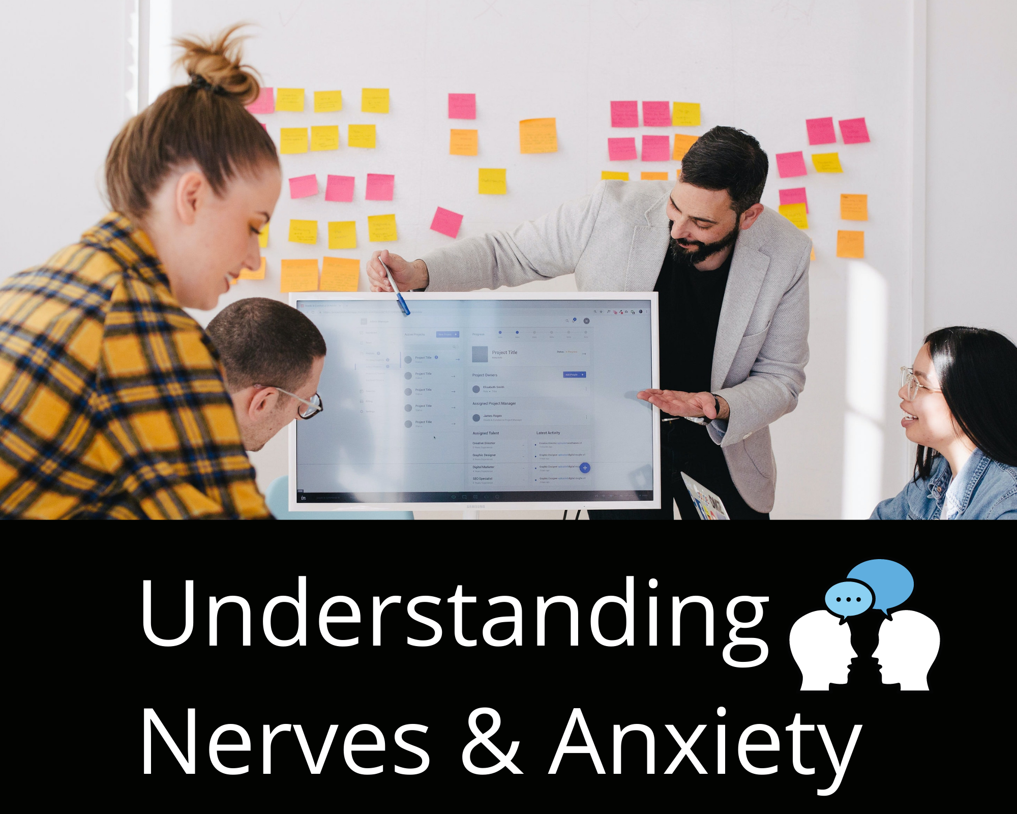 Read more about the article Understanding Nerves & Anxiety Tied to Public Speaking